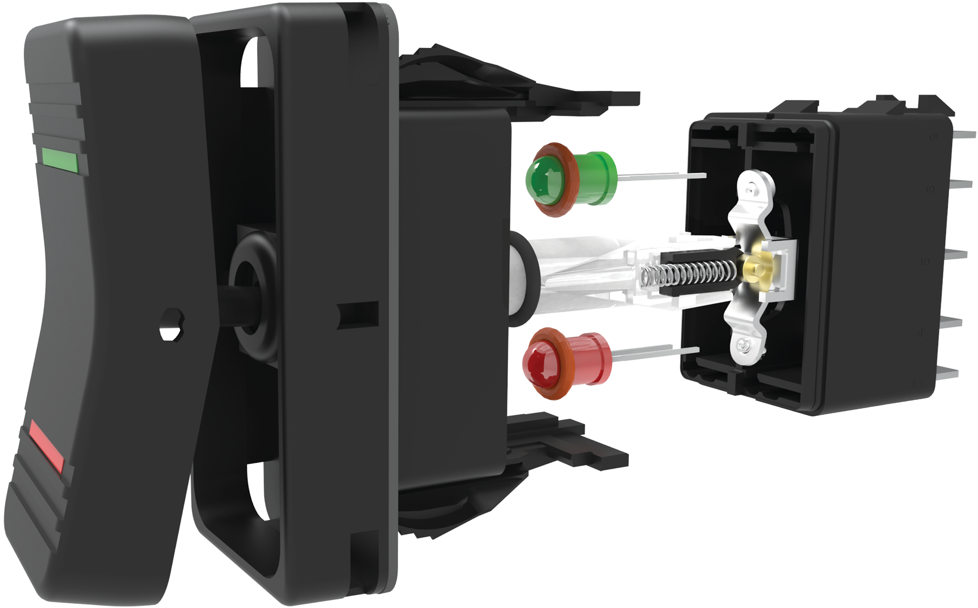 Carling V-Series Contura XII Rocker Switches