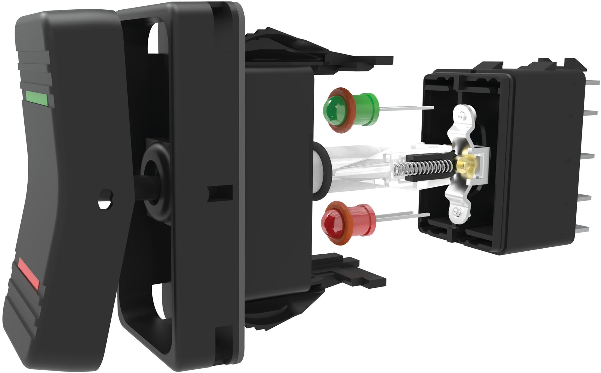 Carling V-Series Contura XI Rocker Switches