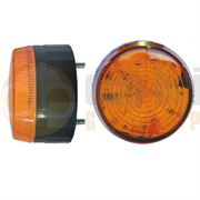 LAP Electrical LLPMVA Low Profile Two Bolt AMBER LED Beacon 10-130V