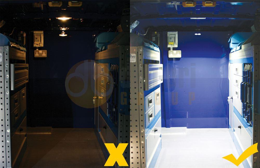 labcraft superlux led interior light 6w 624 lumens dun bri services ltd. Black Bedroom Furniture Sets. Home Design Ideas