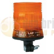 LAP Electrical LCB030A DIN Pole Mount AMBER LED Beacon 12/24V