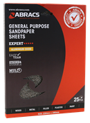 ABRACS General Purpose Sandpaper Sheets