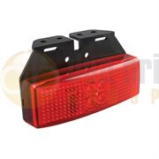 LED Autolamps 1491RM LED REAR MARKER Light with REFLECTOR & BRACKET (Fly Lead) 12/24V