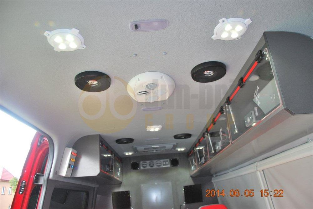 Labcraft megalux led interior light 5w 708 lumens dun bri services ltd for Commercial van interior accessories