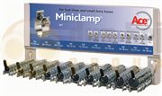 ACE® Zinc Plated Steel Miniclamps Dispenser Rack - 400.0181