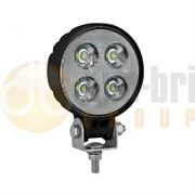 LED Autolamps 9012 Compact Round 4-LED 800lm Work Flood Light 12/24V - 9012BM