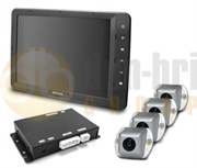 "Brigade SE-7104F-100 BN360 Backeye®360 Camera 10.4"" Monitor System for Large Rigid Vehicles"
