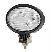 LED Global LG839 Oval 3200lm 8-LED Work Light Fly Lead 12/24V