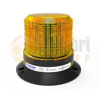 ECCO EB5010A ECCOLED BRONZE Series Three Bolt AMBER LED Beacon 12/24V