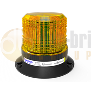 ECCO ECCOLED SILVER Series Three Bolt LED R65 Amber Beacon 12/24V - EB5014A