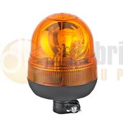 DBG 311.004 Valueline DIN Pole Mount AMBER Bulb ROTATOR Beacon R65 12/24V