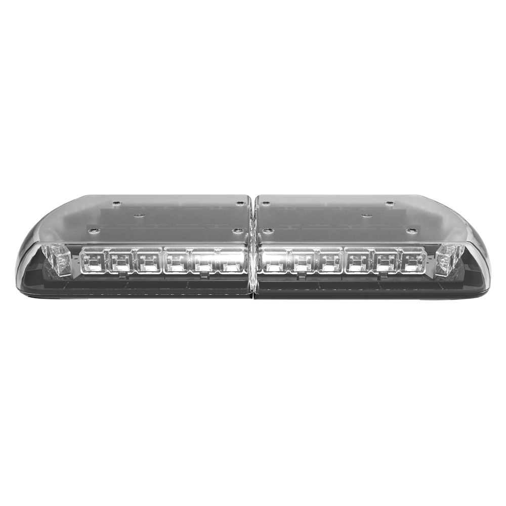 ECCO 12-30174-E 12+ Series Vantage™ 610mm AMBER/CLEAR 12 Module LED Lightbar R65 12/24V