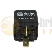 DBG Mini 4 Pin 'Make or Break' Relay with Diode 12V 40A