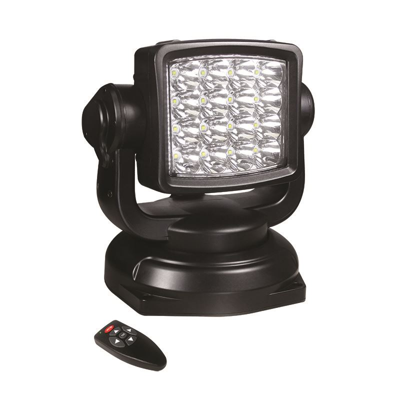 Commercial Vehicle Lighting: LED Autolamps RCSL80BM Remote Controlled Search Lamp