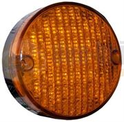 Perei/LITE-wire 84 Series (84mm) Round LED FRONT INDICATOR Light Fly Lead 24V - FL84FLED24V