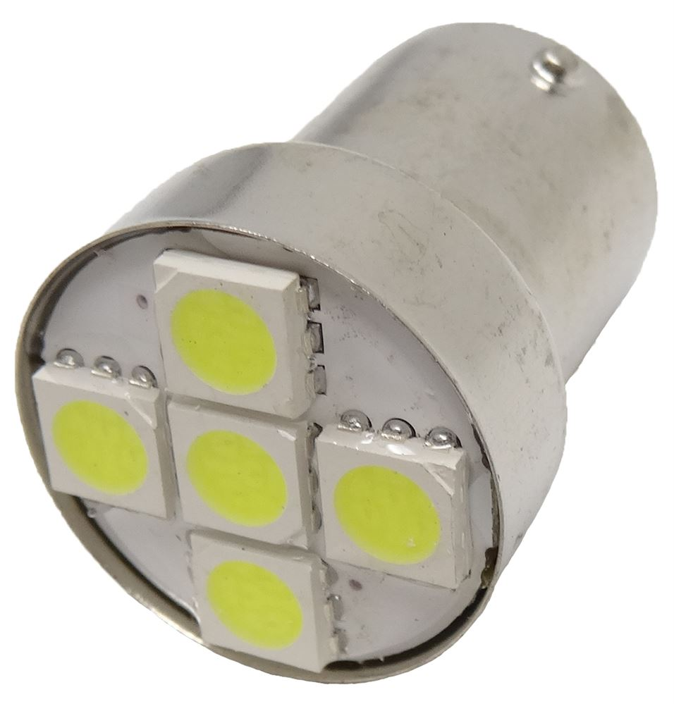 12v 5w 207 Single Contact GREEN LED Twin Pack of Bulbs  SIDE LIGHT MARKER LIGHT