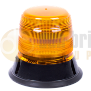 ECCO 5L9.204 400 Series Flexible Single Bolt AMBER Economy LED Beacon 12/24V