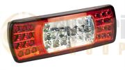 Britax L9004 Series LED REAR COMBINATION Light with FOG & REVERSE (Fly Lead +1) 12/24V - L9004.10.LDV