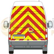 Renault Master (2010 - Present) - BACK - Full Chevron Kit - High Roof