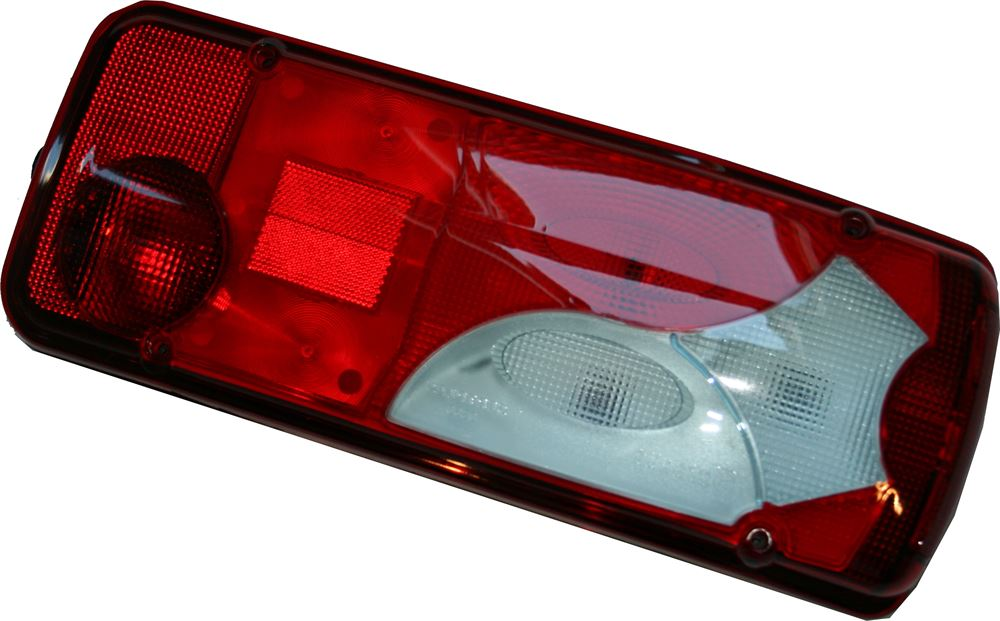 DBG RH Rear Combination Lamp Blue Tint (Side AMP 1.5 Connector) // MAN