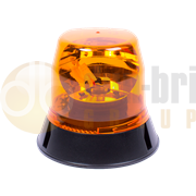 ECCO 400 Series Three Bolt Bulb R65 Rotating Amber Beacon 12/24V - 403.000 / 403.001 / 403.002