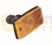 Britax 605.00.LB BULB SIDE MARKER Light with REFLECTOR Shallow Base (Superseal) 12/24V