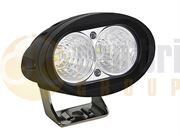 DBG 711.021 Valueline Compact Oval 750lm 2-LED Work Light (Flood) 12/24V