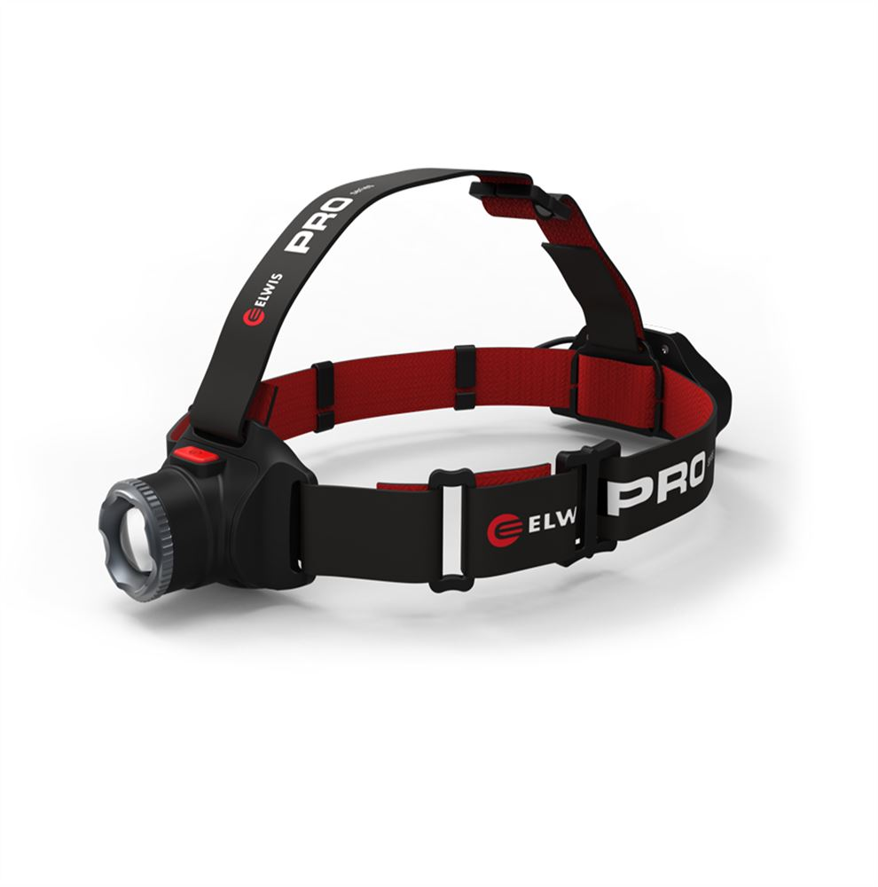 Elwis PRO Series H2-R Rechargeable LED Head Lamp 1