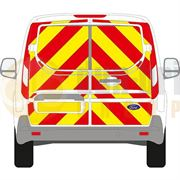 Ford Transit Connect (2014 - Present) - Back - Full Chevron Kit - Low Roof