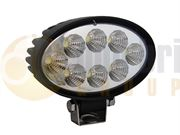 DBG 711.005 Valueline Oval 1100lm 8-LED Work Light (Flood) 12/24V