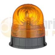 DBG Valueline Three Bolt R65 Rotating Amber Beacon 12/24V - 311.002