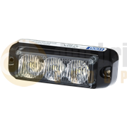 ECCO 3730 Series 3-LED Directional Warning Module - Amber