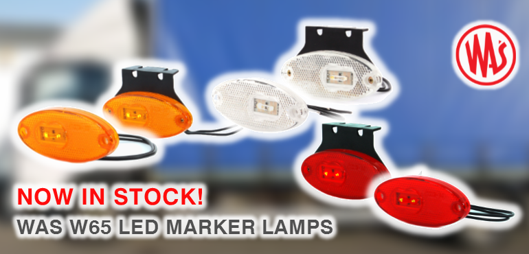 WAS W65 LED Marker Lamps Banner