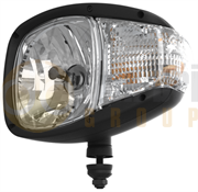Nordic Lights N520 Series RH BULB Headlight with Indicator (Pedestal Mount) 24V - 952-001