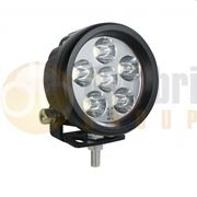 LED Autolamps 896 Compact Round 6-LED 806lm Reverse/Work Flood Light 12/24V - 896FBM
