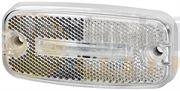 Hella 2PG 345 600-401 LED FRONT MARKER Light with REFLECTOR (0.5m Fly Lead) 24V