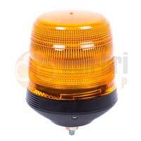 ECCO 400 Series R65 LED Single Bolt Conical Beacon - Amber