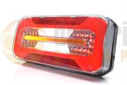 WAS W185DD LH/RH LED Rear Combination Lamp with Reverse, Fog & Dynamic Indicator 12/24V - 1298 DD L/P