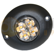 ECCO 3750A 3750 Series R65 4-LED Directional Warning Module - Amber
