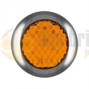LED Autolamps 145 Series (145mm) Round LED INDICATOR Light Fly Lead 12/24V - 145AME