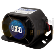 ECCO 600 Series Multi-Frequency Reversing Smart Alarm (Wire) 77-97dB(A)