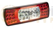 Britax L9004 Series LED REAR COMBINATION Light with FOG & REVERSE (Fly Lead) 12/24V - L9004.00.LDV