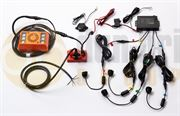 Amber Valley Blind Spot Sideminder Ultrasonic Sensor Alarmalight Kit with Buzzer - AVBSK2