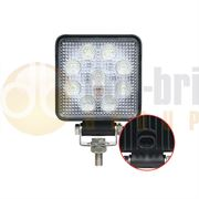 LED Autolamps 10015 Square 9-LED 1210lm Reverse/Work Flood Light (Superseal) 12/24V - 10015BMP