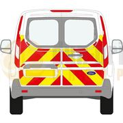 Ford Transit Connect (2014 - Present) - BACK - Half Chevron Kit - All Roof Types