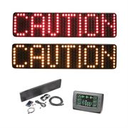 ECCO Message Master LED Directional Warning Sign