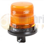 ECCO/Britax B312.00.LDV B310 Series DIN Pole Mount AMBER LED Beacon R65 12/24V