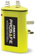 Unilite PS-RB1 Prosafe Rechargable Torch Battery with UK Plug (2000mAh)