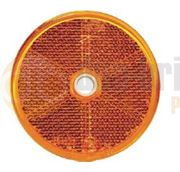 DBG Screw-In Round Amber Side Reflector (Pack of 10)