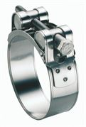 ACE® 23-25mm Stainless Steel T-Bolt Clamp - Pack of 10 - 400.5412